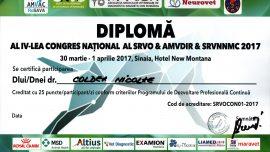Congres național al SRVO AMVDIR SRVNNMC 2017
