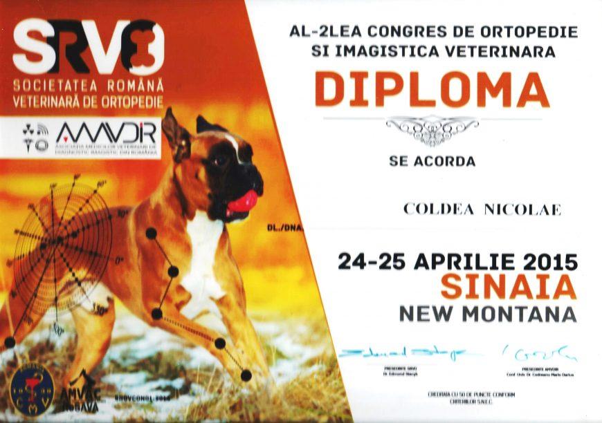 Congres ortopedie și imagistică veterinară